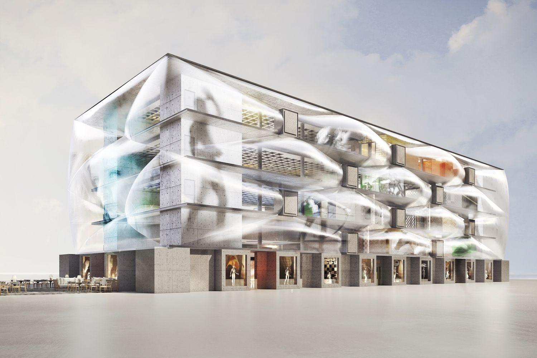 LeNuage JOUR  copie compressed - Philippe Starck, le nuage et l'architecture