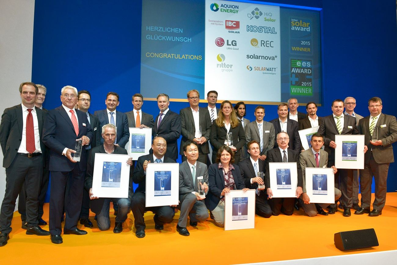 AWARD Europe 01 compressed - Innovation en vigueur avec Intersolar Award