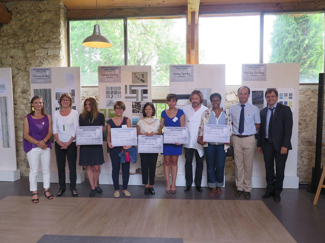 Gerflor lauréats 1 1 compressed - Prix du Gerflor International Design Award