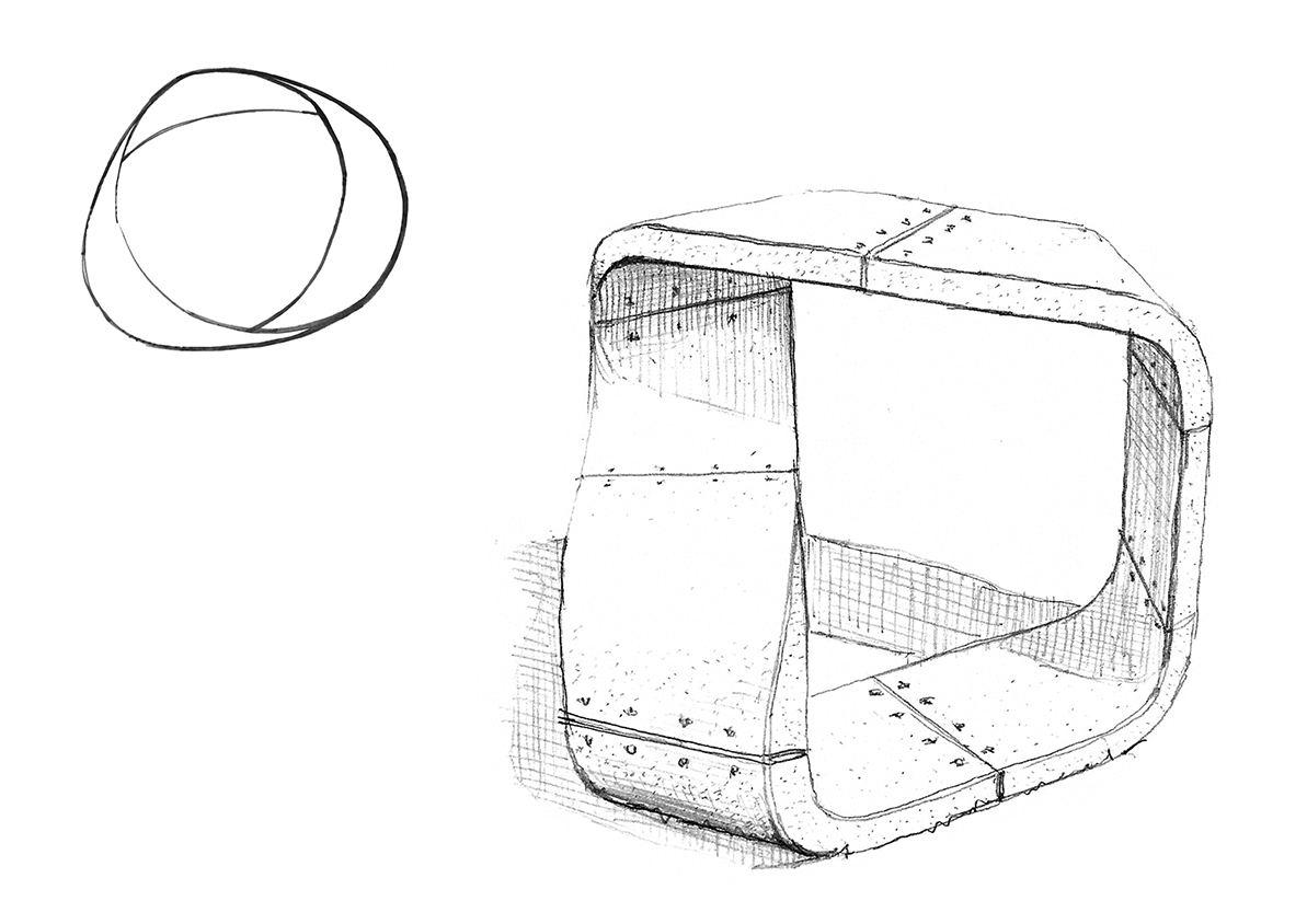 urbend du ruban de moebius au projet compressed1 - Consolis Awards, le béton au service du mobilier urbain