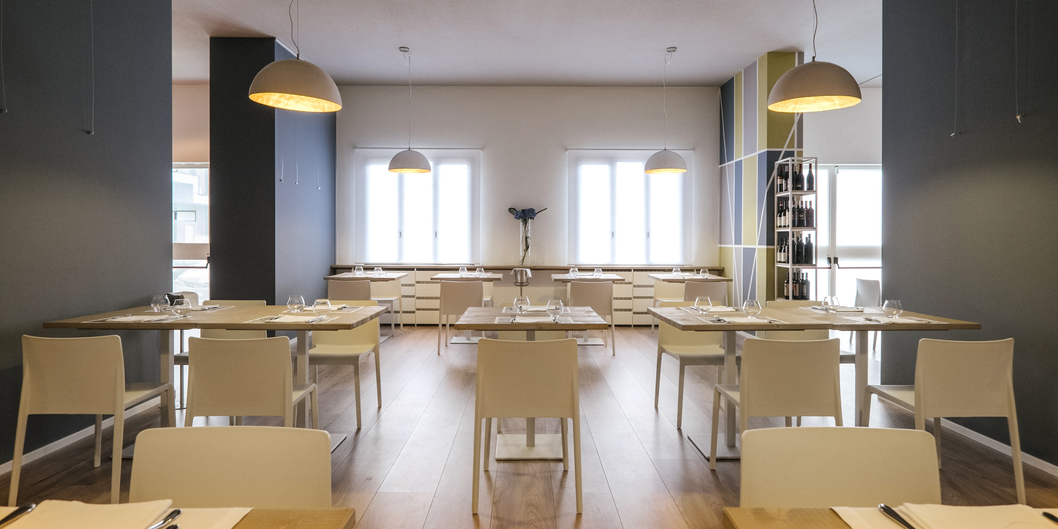 Le restaurant de la prison de Milan Bollate, photo Andrea Guermani