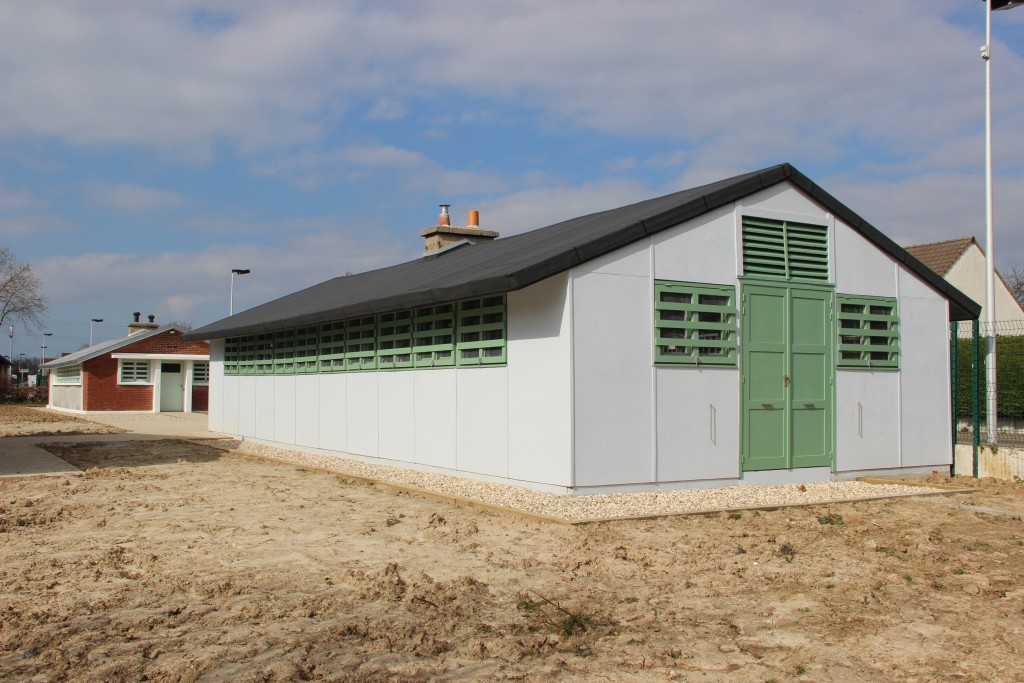 Baraquement Camps GI Espace de partage pascalcole%CC%81 Ville de Gonfreville lOrcher 1024x683 - Deux baraquements après-guerre muséifiés