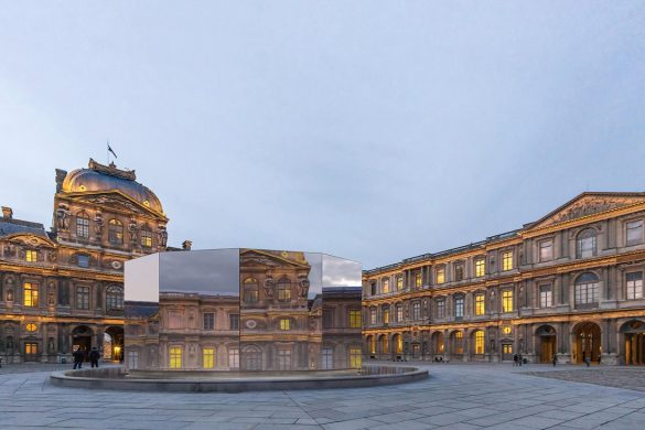 1 Eva Jospin Panorama projet © architecture Outsign courtesy Noirmontartproduction compressed 585x390 - Panorama au Louvre