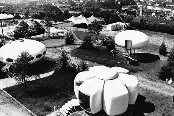 utopie plastique 585x390 - L'utopie de l'habitat plastique des années 1960/70