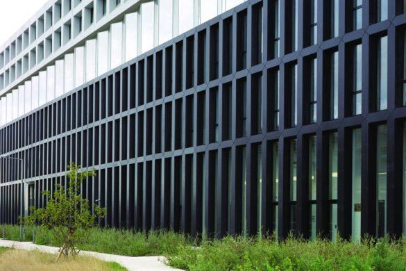 campus edf ecdm saclay 4 585x390 - Campus EDF par ECDM :le ductal projeté