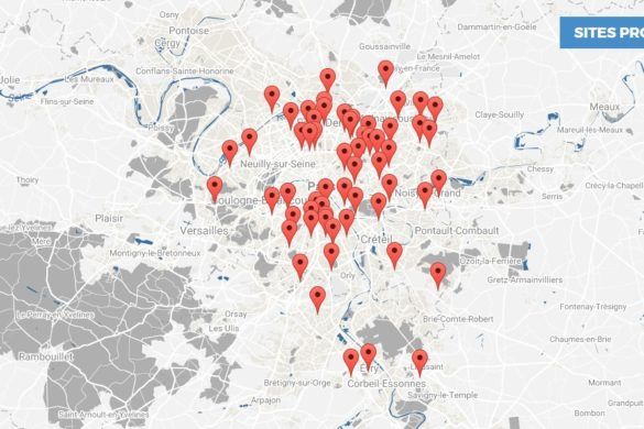 carte des sites proposes 585x390 - Inventons la métropole du Grand Paris : première phase