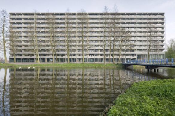deflat kleiburg nl architects xvw architectuur 3 585x390 - Le prix Mies van der Rohe récompense l'opération de rénovation du Kleiburg