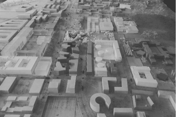 saclay maquette 585x390 - Le Grand Prix de l'urbanisme 2017 décerné à Pierre Veltz