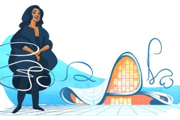 zaha hadid google doodle design graphics news dezeen hero 3 585x390 - L'architecture aux prises avec l'économie : la revue de presse du 6 juin 2017