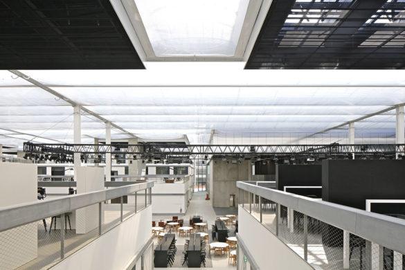 ecole centrale supelec paris saclay OMA Philippe Ruault 585x390 - L'Ecole Centrale-Supélec à Paris-Saclay: un monde en soi