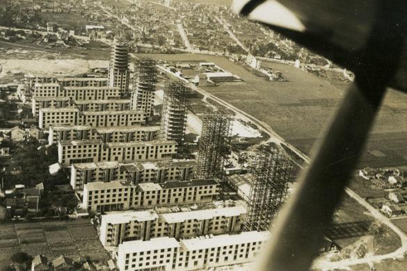 Cité de drancy vue davion©Cité de l'architecture 585x390 - Eugène Beaudouin et Marcel Lods, architectes d'avant-garde