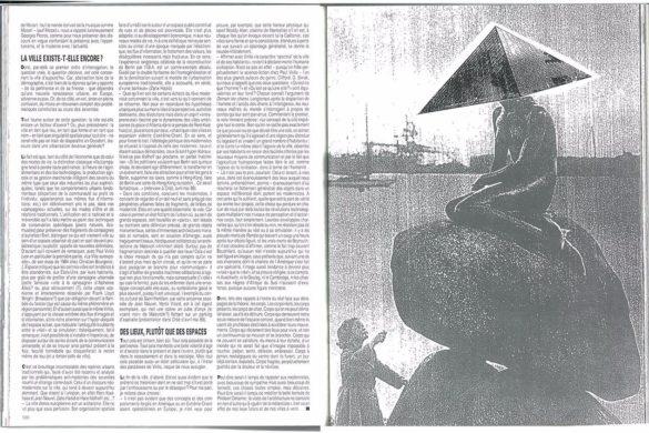 P5 archicree 1989 europe image louvre 585x390 - Rétro : L'Europe des métropoles en quête d'image