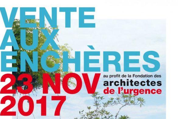 vente aux encheres architectes de lurgence copie 585x390 - Vente aux enchères au profit des architectes de l'urgence