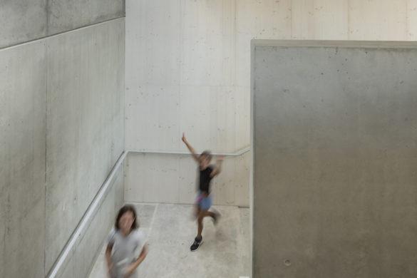 23 richter lingolsheim escalier elementaire Luc Boegly 585x390 - Best of 2017 : Enseignement