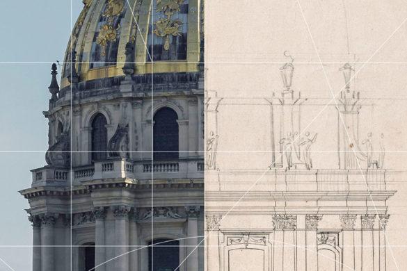 dessiner pour batir 585x390 - Dessiner pour bâtir. Le métier d'architecte au XVIIe siècle