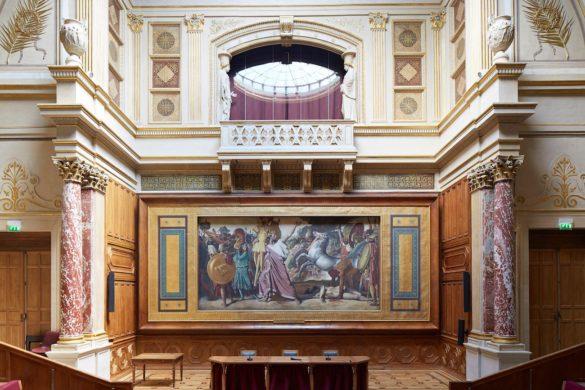 restauration beaux arts francois chatillon 585x390 - L'école des Beaux-Arts de Paris reprend ses fonctions muséographiques.