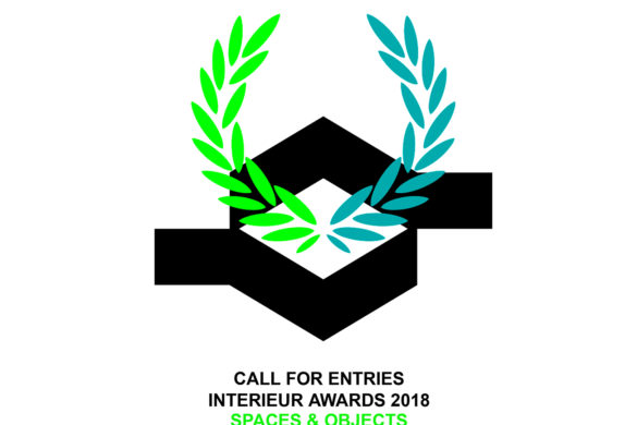 Call for entries INTERIEUR AWARDS 2018 585x390 - Interieur Awards 2018