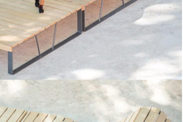 atlantique area 585x390 - Mobilier urbain : la gamme Atlantique explore le concept de salon d'extérieur