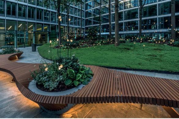 botanic twist 585x390 - Mobilier urbain : Botanic Twist, le banc de chezTOLERIE FORÉZIENNE