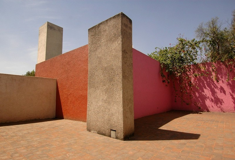 maison atelier luis barragan mexique architecture rose 1 - LuisBarragán, l'architecte coloriste mexicain