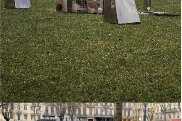 rocs franck magné objets publics 585x390 - Mobilier urbain : les rocs de FRANCK MAGNÉ