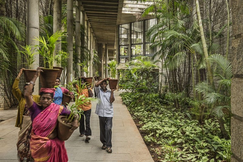 Balkrishna Doshi  courtesy of VSF 2 - L'architecte indien Balkrishna Vithaldas Doshi reçoit le Pritzker Prize 2018