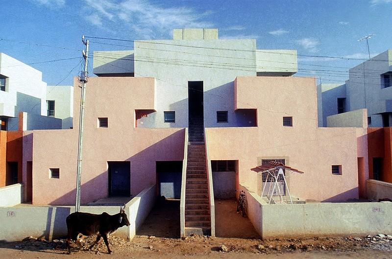 Life Insurance Corportation Housing courtesy of VSFBalkrishna Doshi - L'architecte indien Balkrishna Vithaldas Doshi reçoit le Pritzker Prize 2018