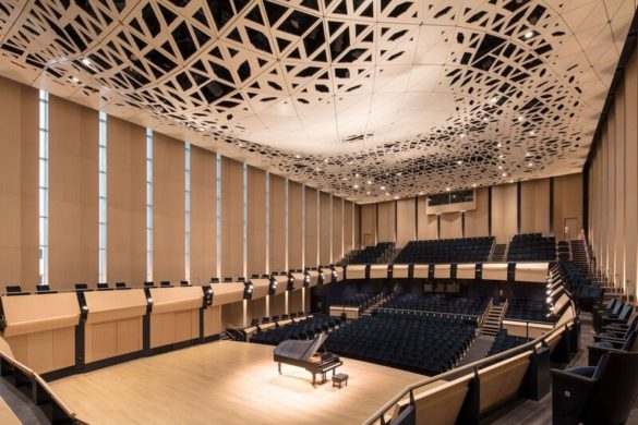 Tim Griffith VOX 2376 preview 585x390 - Architecture acoustique : le Voxman Music Building