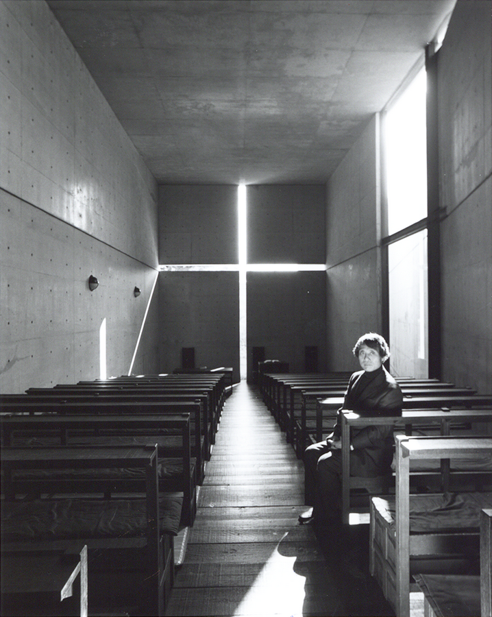 Tadao ando church of light chapelle de la lumi%C3%A8re portrait lumi%C3%A8re archicree Nobuyoshi Araki 1 - Tadao Andō, la lumière, et le béton...