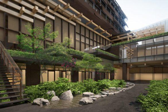 ace hotel kyoto kengo kuma dezeen 2364 hero 1704x959 585x390 - Ace Hotel fait appel à Kengo Kuma pour concevoir son premier établissement japonais