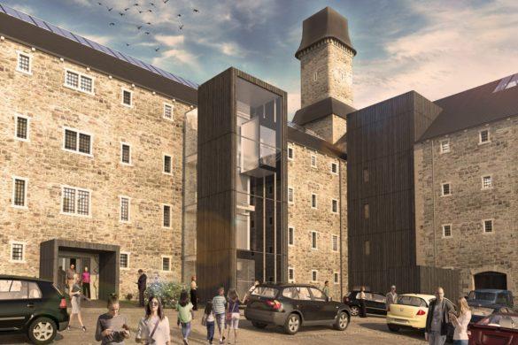 bodmin jail twelve architects adaptive reuse hotel  dezeen 2364 col 5 1704x1065 585x390 - L'agence Twelve Architects redonne vie aux ruines de la prison de Bodmin