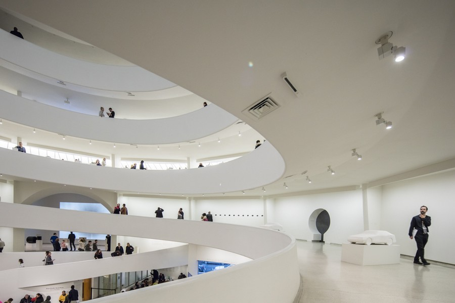 galerie musee frank lloyd wright guggenheim - Frank Lloyd Wright, l'architecte qui conquit l'Amérique