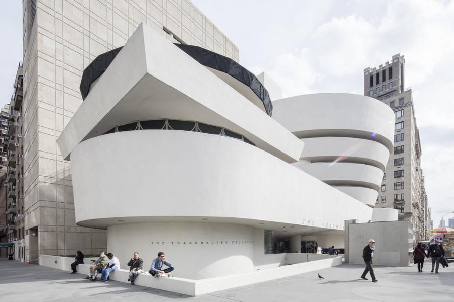 galerie musee frank lloyd wright guggenheim exterieur - Frank Lloyd Wright, l'architecte qui conquit l'Amérique