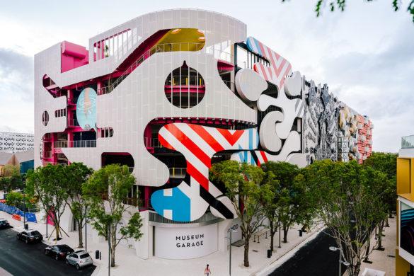 180423 Museum Garage Miami 005 585x390 - Le Museum Garage de Miami : un cadavre exquis architectural !