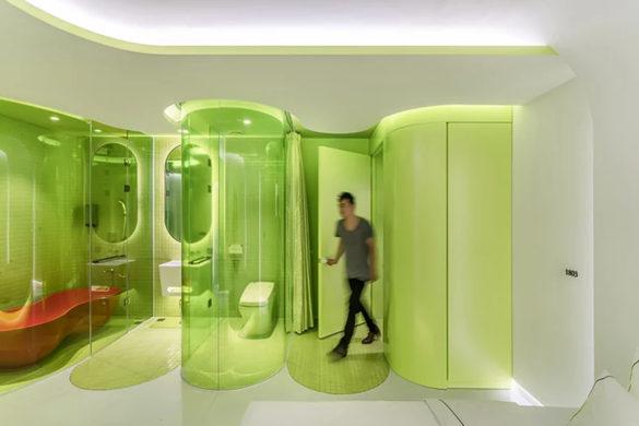 2 1 585x390 - SML imagine une suite vert citron au design complètement futuriste !