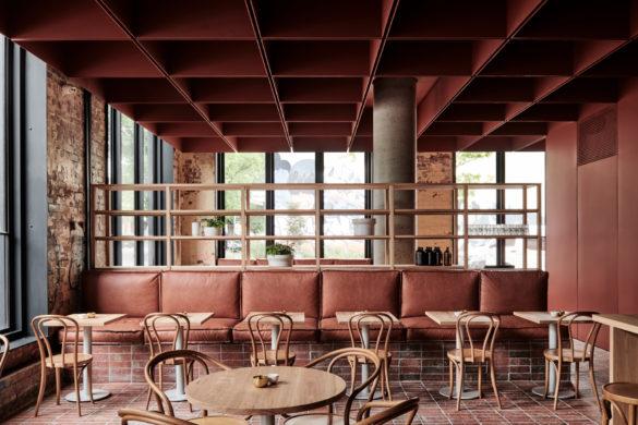Bentwood 005 LR 585x390 - Ritz & Ghougassian : ambiance terracotta pour le design intérieur du café Bentwood