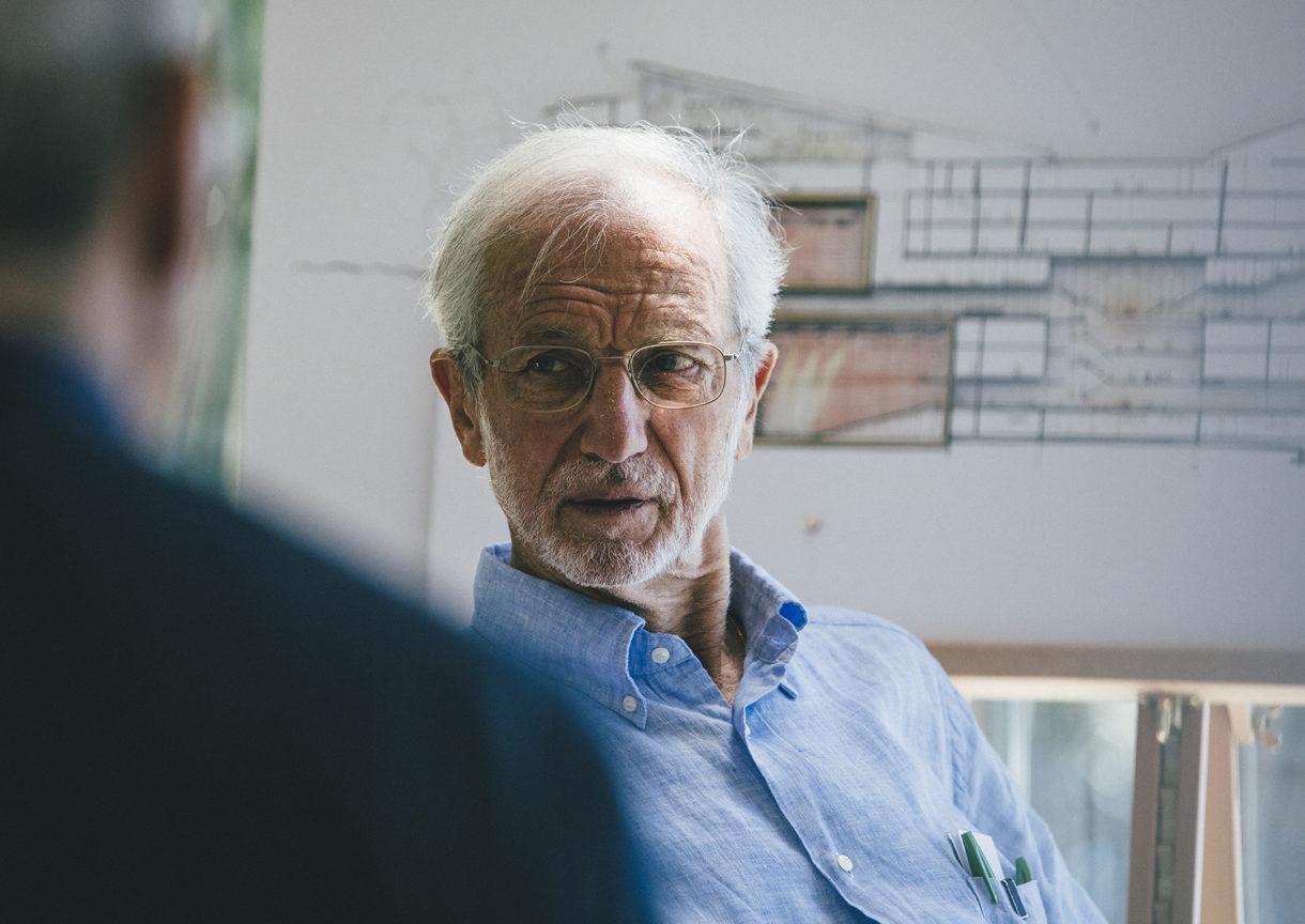 portrait renzo piano - Renzo Piano, l'architecte italien contemporain !