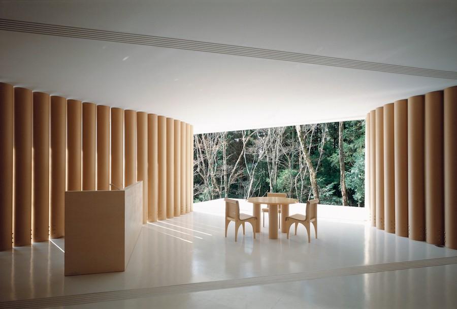shigeru ban architecture carton maison en carton logement habitat 1995 japon residence - Shigeru Ban : à qui profite l'architecture ?