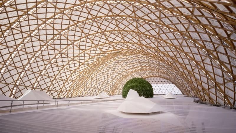 shigeru ban pritzker price architecte architecture humaniste contemporaine portrait archicree hanovre allemagne expo 2000 pavillon japonais - Shigeru Ban : à qui profite l'architecture ?