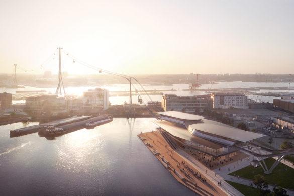 unnamed 585x390 - UNStudio conçoit le téléphérique d'IJbaan: une connexion de transport public rapide, écologique et évolutive à Amsterdam