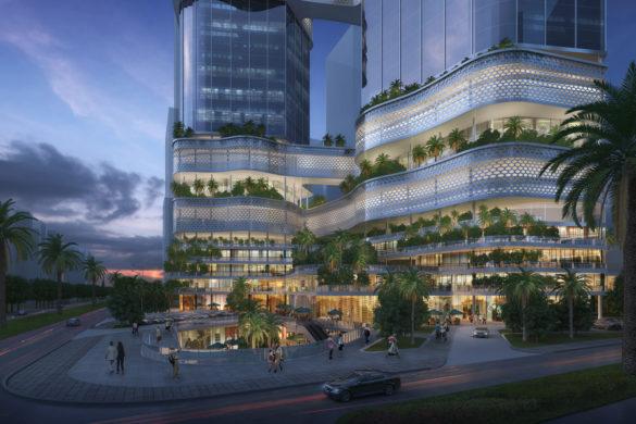 585x390 - iCarbonX dévoile le design de son super quartier général à Shenzen