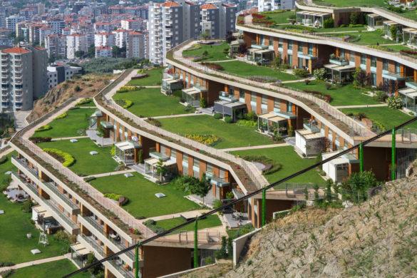 09 585x390 - M artı D Mimarlık et les résidences Asma Bahçeler