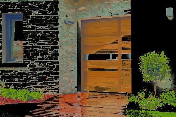 11 nativ3 zilten porte entree miel L1200 400 585x390 - NATIV, Porte d'entrée par ZILTEN