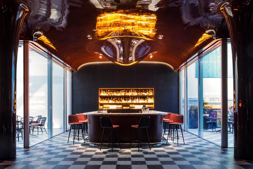 LivingRoomRP AgenceEnPLace LES BAINS - Profession : agenceur de bars professionnels