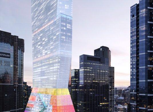 OMA 4 535x390 - Six géants de l'architecture en compétition pour redessiner la skyline de Melbourne