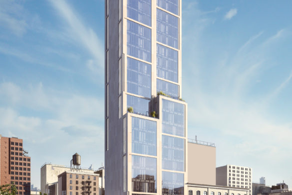 Visualisation of 570 Broome New York USA 1 585x390 - Neolith habille le 570 Broome à New-York