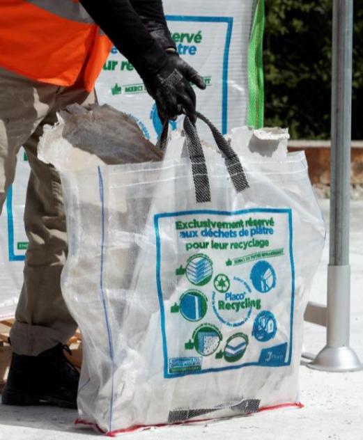 "big bag recyclage placo - Placo Recycling dévoile le ""Big Bag"""