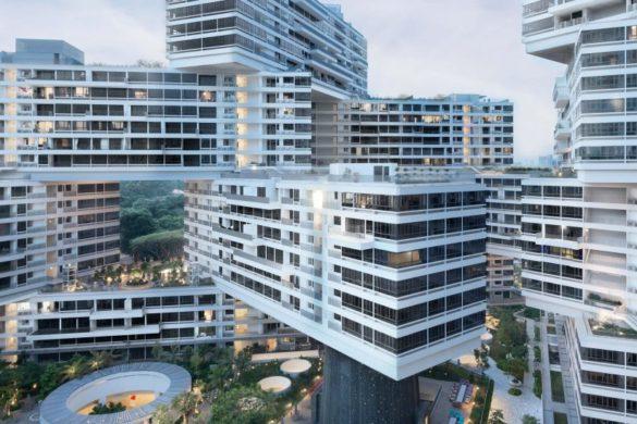 the interlace ole scheeren singapore dezeen sq 822x822 585x390 - Dix constructions cubiques s'inspirant du Jenga et du pixel