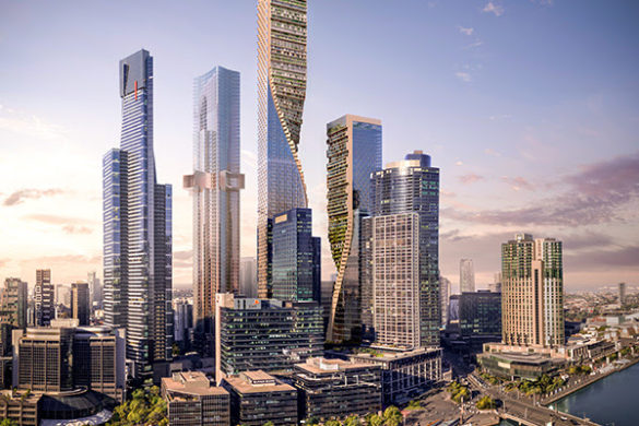unnamed 2 585x390 - La plus haute tour d'Australie sera signée UNStudio