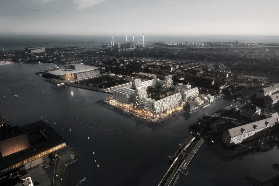 cobe paper island copenhague danemark ile - COBE célèbre le mode de vie danois en plein cœur de la capitale avec Paper Island